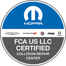 MOPAR FCA US LLC Certified Collision Repair Center