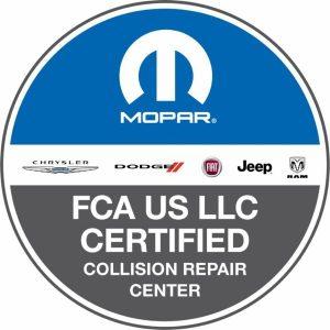 fca certified collision repair logo new
